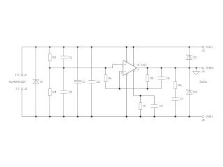 Diagrama do circuito.