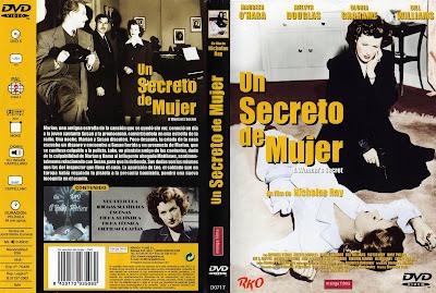 Carátula dvd: Un secreto de mujer (1949) (A Woman's Secret)
