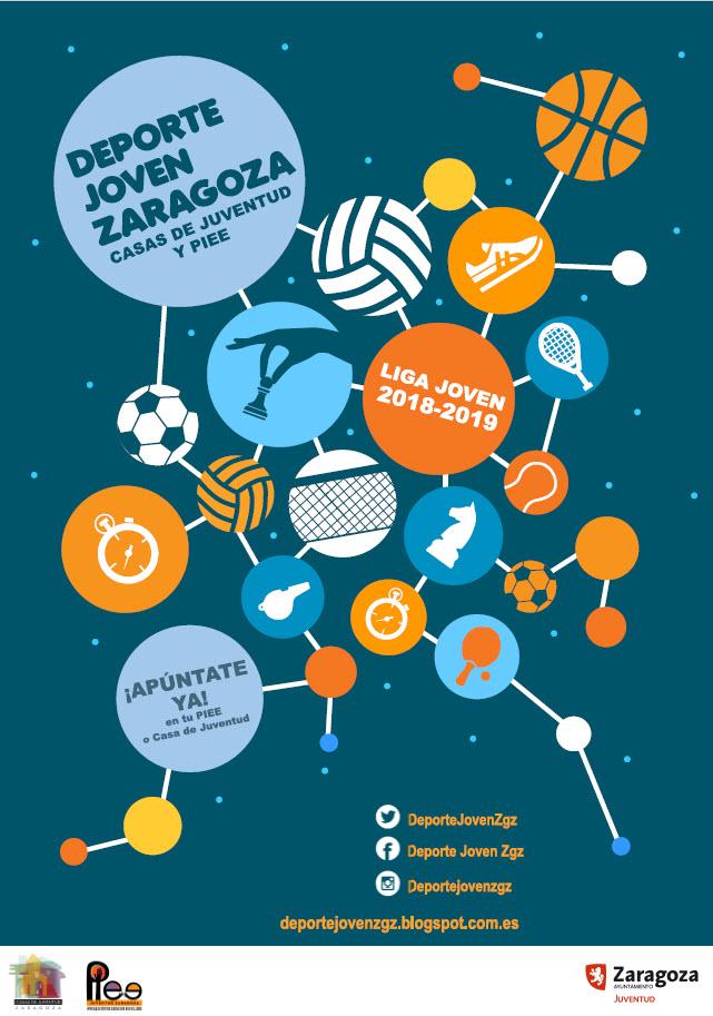 Preparados, listos .... Arranca la Liga Joven ZGZ Temporada 2018-2019