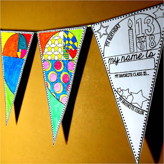 Back to School pennant for Math - The Golden Ratio