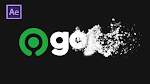 Membuat Opening Video Gojek Particles Text/ Logo Effects - After Effects Bahasa Indonesia