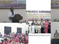 Polres Sorong, TNI-Polri, Muspida dan Tokoh Masyarakat Buka Puasa Bersama