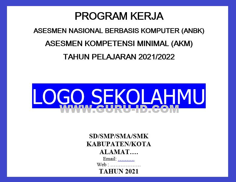 gambar program kerja anbk 2021