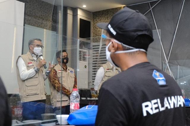 Nurdin Abdullah Apresiasi 1.000 Relawan Satgas Penanganan Covid-19 di Sulsel.lelemuku.com.jpg