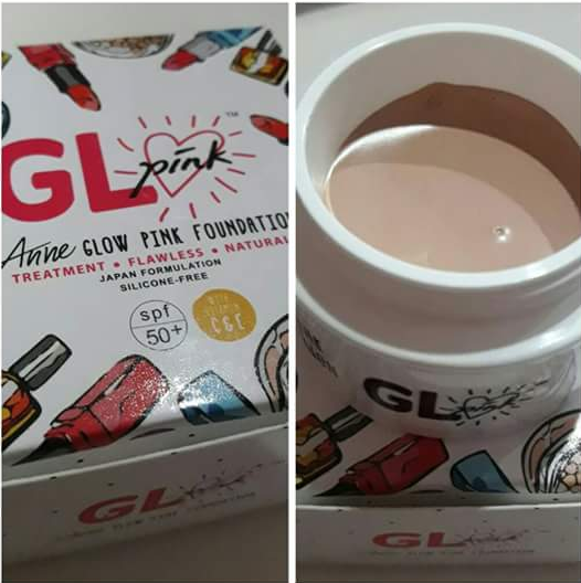 anne glow pink foundation stokis