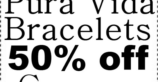 10 Off Pura Vida Bracelets Promo Codes And Coupons