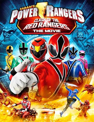 Ver Power Rangers El choque de los Rangers Rojos (2012) Online