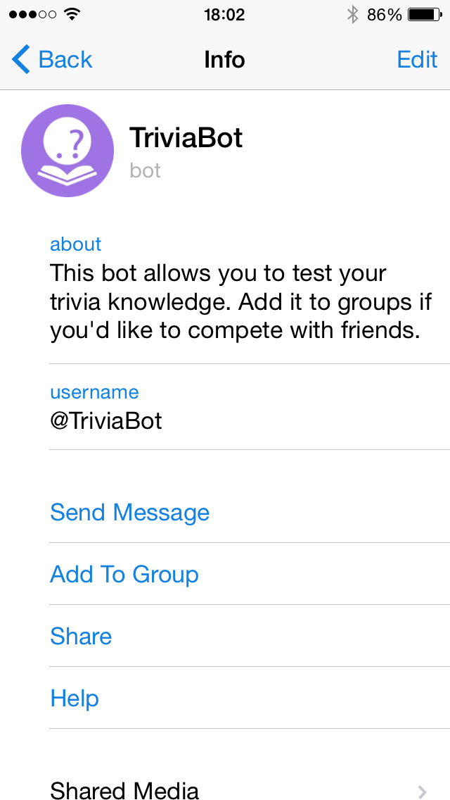 You Can Set Up A Description And Link That Will Be Used When People Share Your Bot On Telegram Or Other Platforms