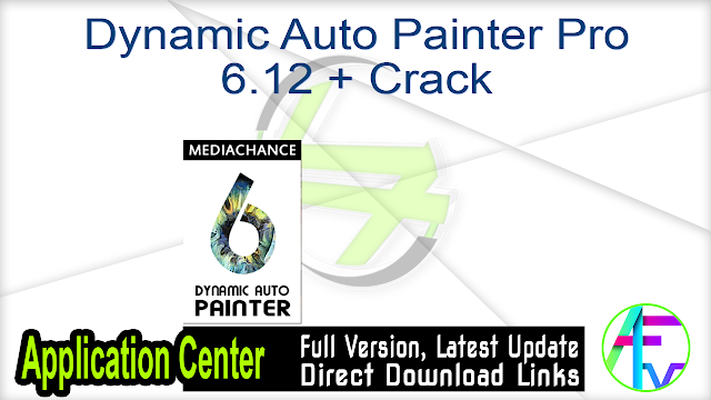 Dynamic Auto Painter Pro 6.12 + Crack