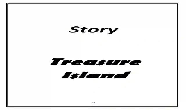 شيتات اسئلة واجابات نموذجية علي قصة treasure island الترم الثانى شيتات على قصة جزيرة الكنز Treasure Island
