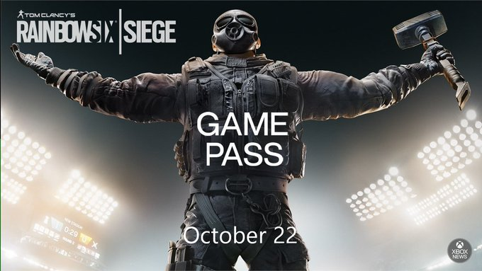 Tom Clancy's Rainbow Six Siege is On Xbox Game Pass