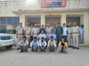 Barmer News,Goat thief gang,rajasthan police,Rajasthan Crime News,honeytrap busted,Encounter Latest News, Goat thief gang busted, 05 accused including female gangster arrested in Barmer Rajasthan crime news