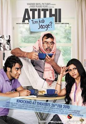 Atithi Tum Kab Jaoge? 2010 Hindi 720p DVDRip 950MB