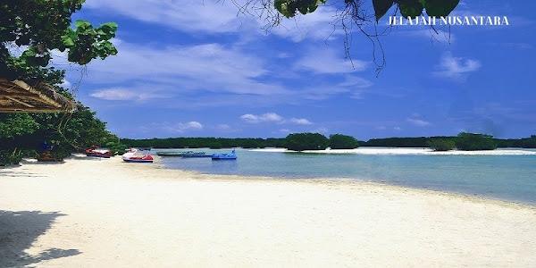 rencana perjalanan open trip satu hari pulau pari