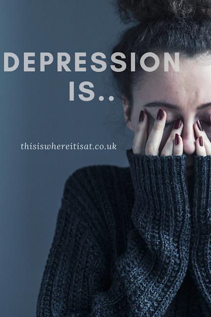 Depression is...