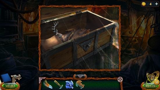 в сундуке получаем одежду с фигуркой в игре затерянные земли 4 скиталец