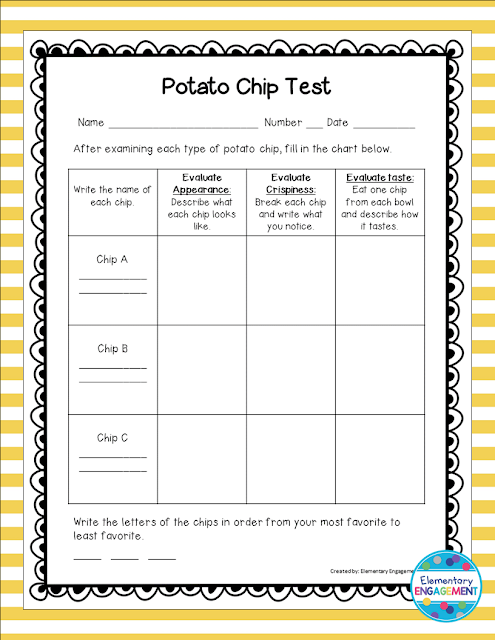 This free form goes with a fun lesson that uses potato chips to teach economics concepts.