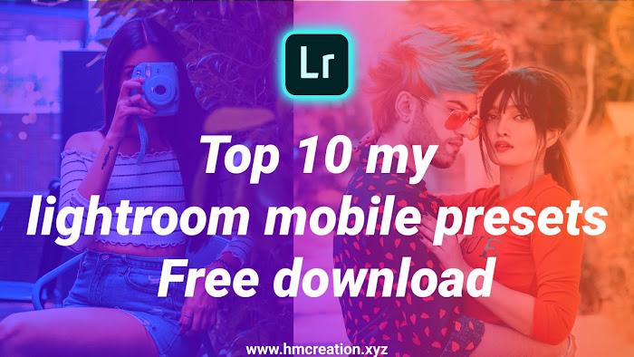 Top-10-New-Lightroom-Mobile-Presets-free-download
