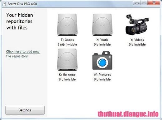 Download Secret Disk Pro 5.00 Full Cr@ck