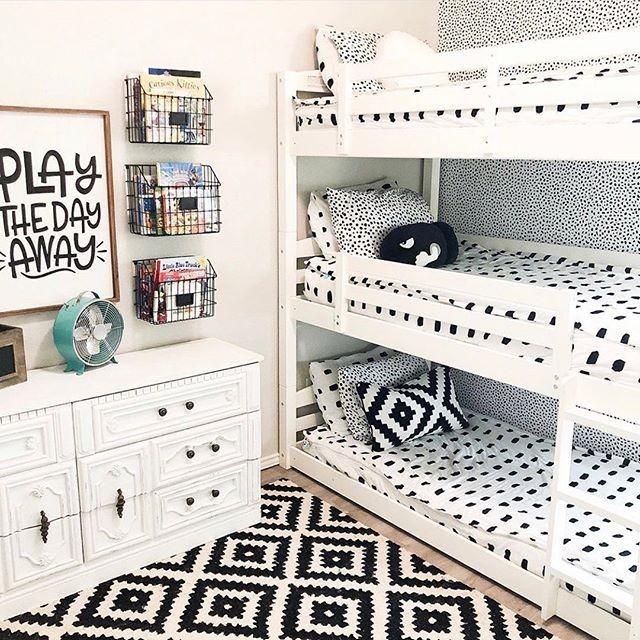 30 Idea Dekorasi Cantik Katil Bertingkat Untuk Bilik Tidur Anak Bagi Ruang Bilik Kecil