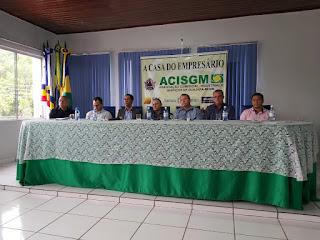 Dr. Neidson discute convênio da Suframa na Associação Comercial de Guajará-Mirim