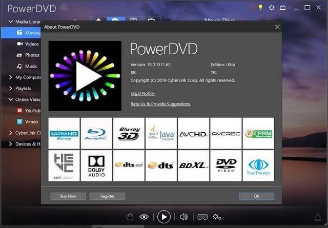 Download CyberLink PowerDVD Ultra 19 Full Version