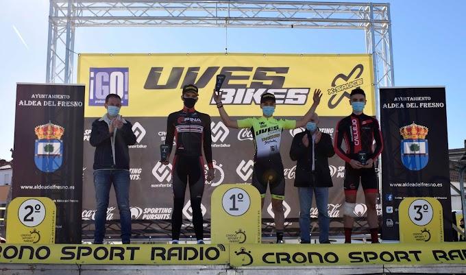 Inguanzo y Nuño consiguen el triunfo en el V Trofeo de Ciclocross Uves Bikes de Aldea del Fresno