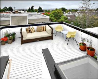Examples of minimalist design Modern with Decking