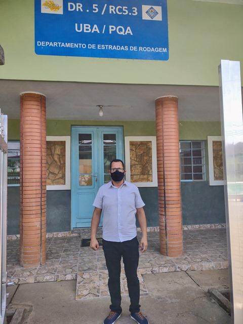 Vander Lopes solicita melhorias para o trânsito na estrada vicinal que liga Registro-SP a Sete Barras