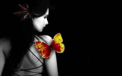 Uma bela poesia sobre a beleza da borboleta.