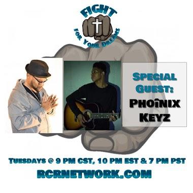 Interview of Phoînix Keyz (New Time: 9 PM CST, 10 PM EST & 7 PM PST)
