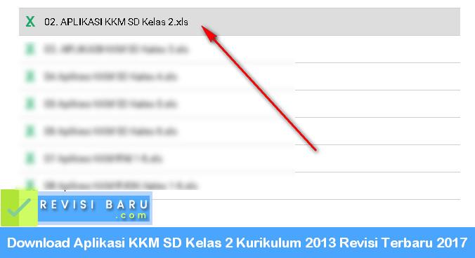 Aplikasi KKM SD Kelas 2 Kurikulum 2013