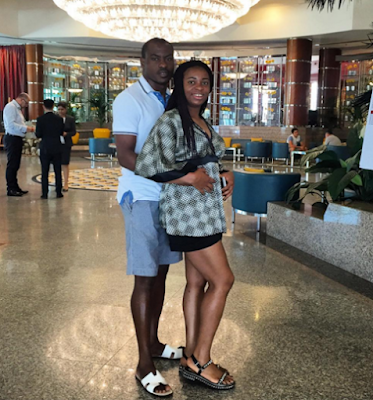 Vincent Enyeama and wife promise