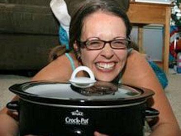 Stephanie O'Dea is the CrockPot Lady