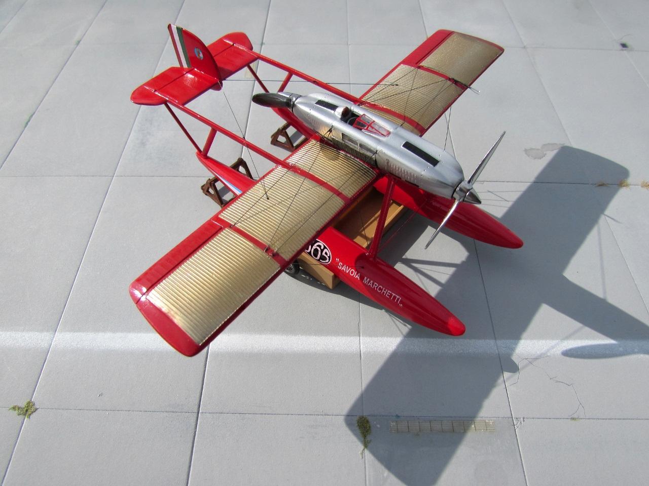 1//72 Karaya Savoia S.65  resin kit