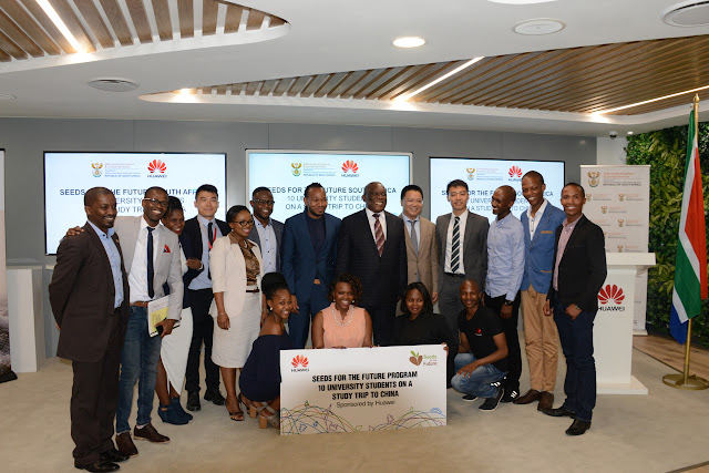@HuaweiZA Partners with #DTPS for Their #SASeedsfortheFuture Program