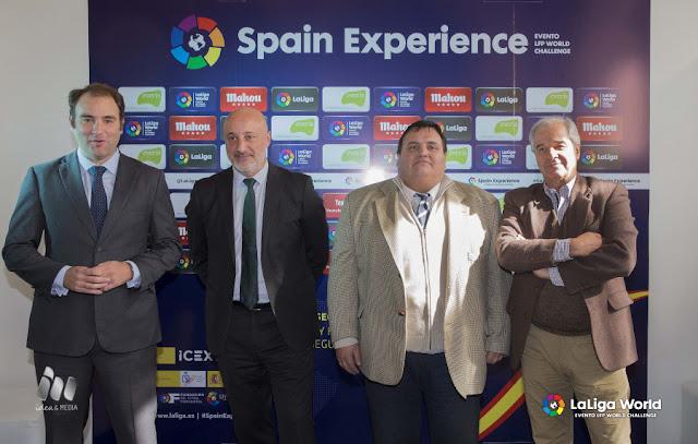 LaLiga mostró en Uruguay el sistema de seguridad utilizado en España