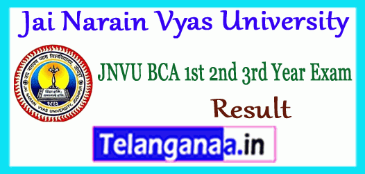 JNVU BE Result 2018 2nd 4th 6th 8th Semester Mark sheet