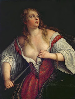 """Lucretia"" by Bassano (16th/17th century)"