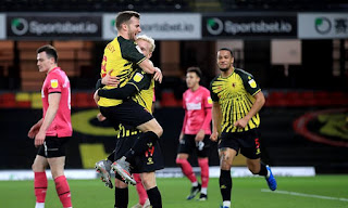 Watford move up to 3rd place with goals from Joao Pedro and Will Hughes