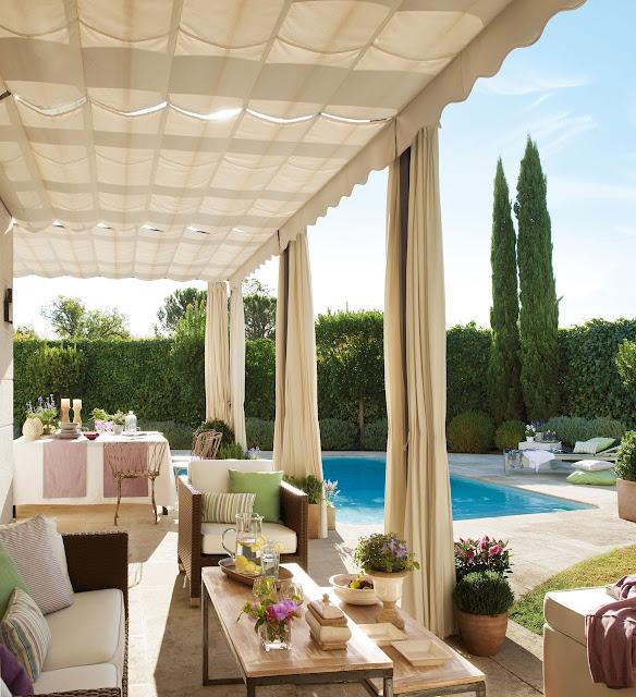 veranda in mediterranean style | elmueble