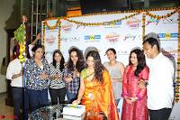 Marath Actrss Urmila Kanitkar Celetes Gudi Padwa in Orange Saree 09.JPG