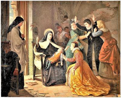Resultado de imagem para miracles of saint teresa of avila CANONIZATION NEPHEW