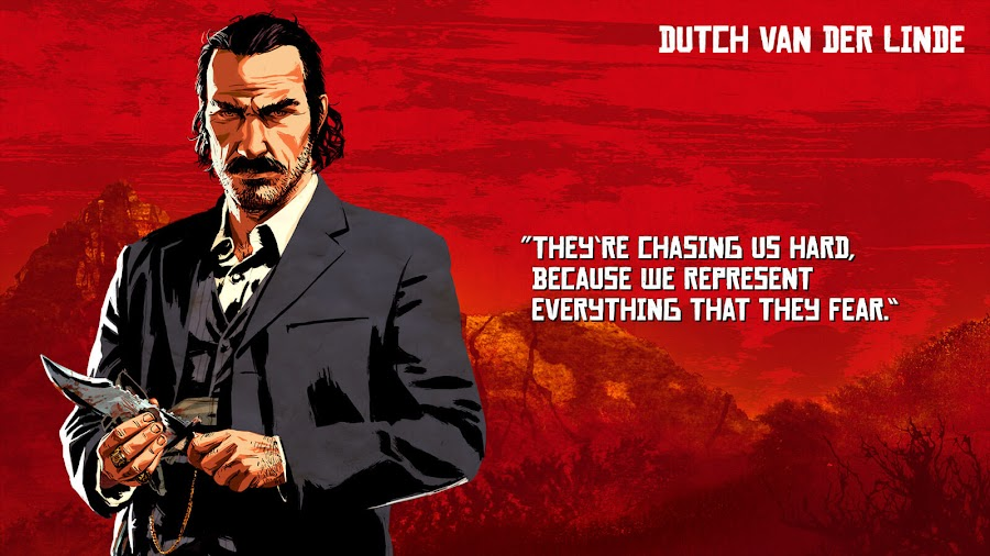 red dead redemption 2 van der linde gang dutch van der linde