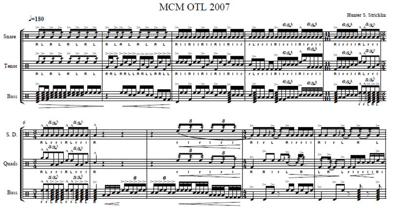 Percussion and Drum Stuff: Music City Mystique Drumline