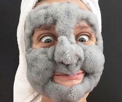 Smooth and healthy skin is just one awesomely freaky face mask away when using this Korean fluffy bubble face mask. It creates a thick grey foam when lathered on that helps to exfoliate pores, so your skin looks young and radiant.