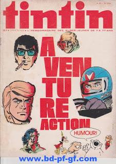 Tintin numéro 29, 1975, Aventure action
