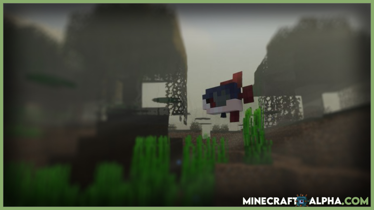 Minecraft Fresh Warriors Mod For 1.17.1/1.16.5 (More Water Creatures)