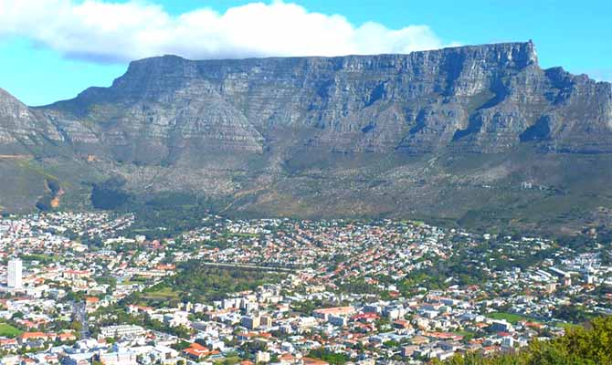 Table Mountain Tours in South Africa