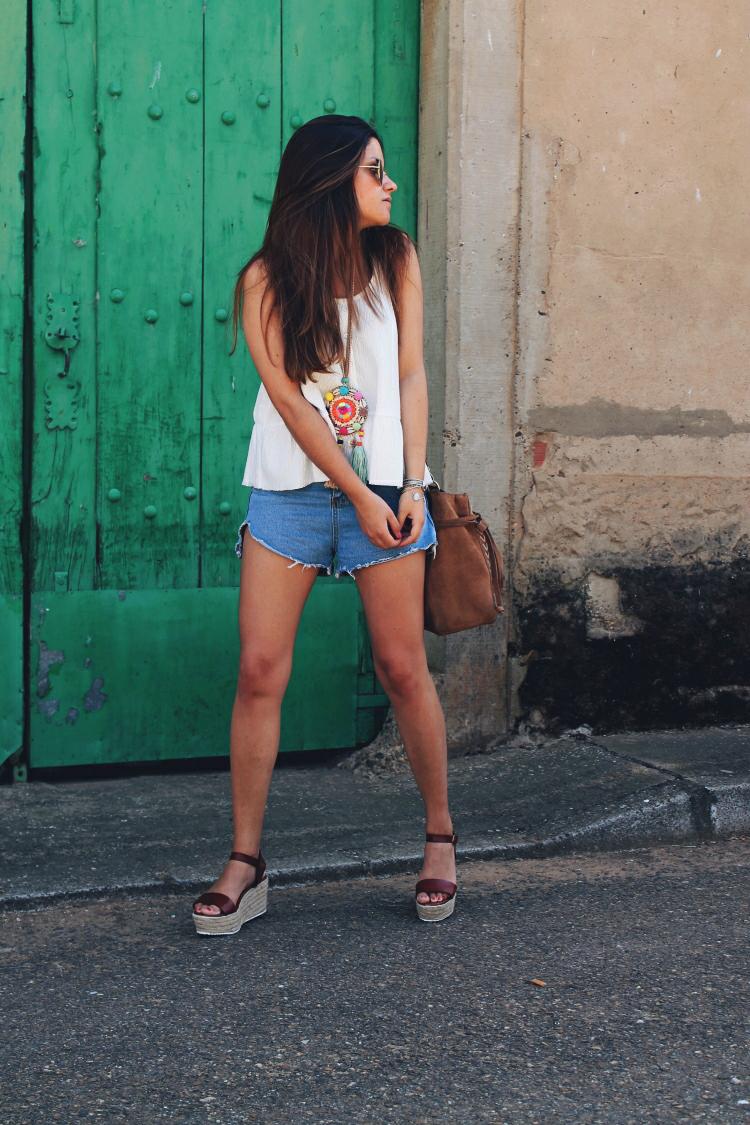 collar etnico outfit verano blog de moda